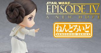 Boneca Nendoroid Princesa Leia – Star Wars Uma Nova Esperança