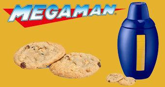 Pote de Cookies Mega Man