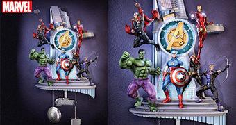 Relógio de Pêndulo Avengers Assemble