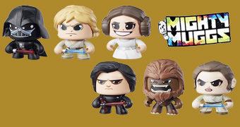 Bonecos Mighty Muggs da Hasbro estão de volta com Star Wars
