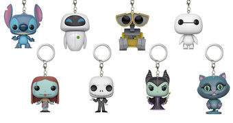Chaveiros Funko Pocket Pop! Disney e Pixar (Blind-Box)
