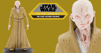 Supremo Líder Snoke Action Figure de Metal Disney Elite Series Die Cast