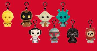 Chaveiros de Pelúcia Star Wars Classic Mystery Minis