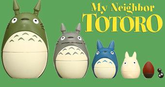 Bonecas Russas Matryoshkas Meu Amigo Totoro (Hayao Miyazaki)