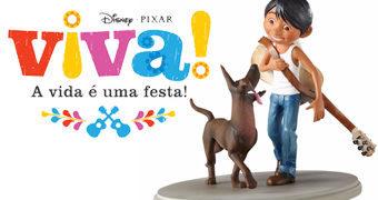 Viva – A Vida é Uma Festa (Coco) Estátua Disney Showcase: Miguel e Dante