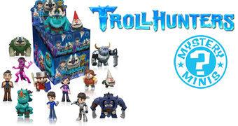 Trollhunters Mystery Minis – Mini-Figuras Blind-Box da Série Animada de Guillermo del Toro