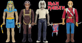 Eddie ReAction – Action Figures Retro do Iron Maiden