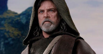 Luke Skywalker (Mark Hamill) em Star Wars: Os Últimos Jedi – Action Figure Perfeita 1:6 Hot Toys