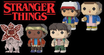 Bonecos Pop! 8-Bit Stranger Things