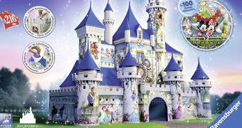 Quebra-Cabeça 3D Castelo Disney