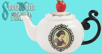Bule de Chá Branca de Neve Disney