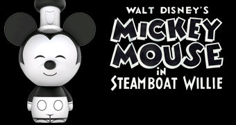 Boneco Dorbz Mickey Mouse Steamboat Willie (1928)