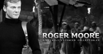 Sir Roger Moore como James Bond 007 – Action Figure Perfeita 1:6 DID Corp.