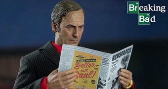Saul Goodman (Bob Odenkirk) em Breaking Bad – Action Figure Perfeita 1:6 ThreeZero