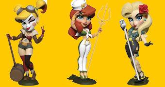 Cryptozoic DC Bombshells: Black Canary, Harley Quinn e Meera