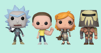 Bonecos Pop! Rick and Morty da Terceira Temporada