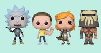 Bonecos Pop! Rick and Morty da Terceira Temporada