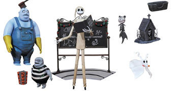 "Action Figures Nightmare Before Christmas Select 7"" (Série 4)"