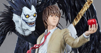 Estátua Light & Ryuk Death Note (Anime)