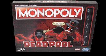 Jogo Monopoly Deadpool