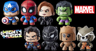 Bonecos Marvel Mighty Muggs