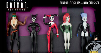 "Bonecas Flexíveis ""Gotham Girls"" Bendable Figures (The New Batman Adventures)"
