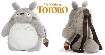 Mochila Espírito Protetor da Floresta Totoro (Hayao Miyazaki)