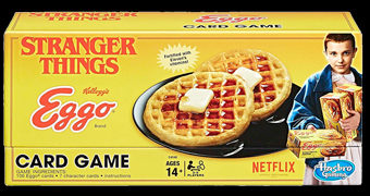 Jogo de Cartas Stranger Things Eggo Card Game