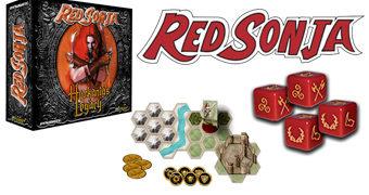 Jogo de Tabuleiro Red Sonja: Hyrkania's Legacy