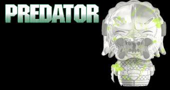 Boneco Dorbz Predador Translúcido e Fosforescente