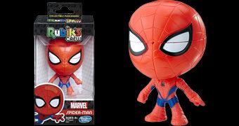 Cubo de Rubik Homem-Aranha: Spider-Man Rubik's Crew Puzzlehead