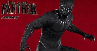 Estátua Black Panther ArtFX (Pantera Negra)