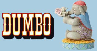 "Estátua Disney Traditions: Sra. Jumbo e Dumbo ""O Amor Incondicional de Mãe"""