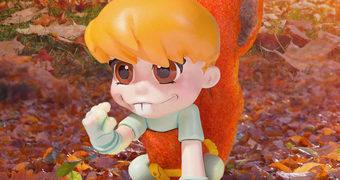 Squirrel Girl (Garota Esquilo) Animated Statue – Estátua Gentle Giant Estilo Bebê