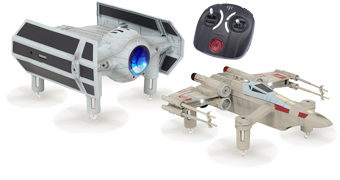 Drones Star Wars Propel RC: X-Wing e TIE Advanced