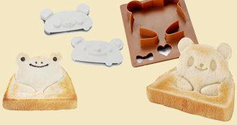 Cortador de Sanduíches Urso Panda 3D