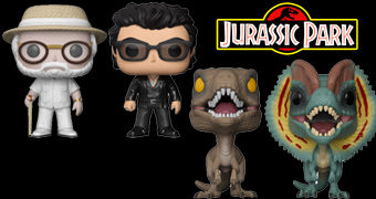 Bonecos Pop! Jurassic Park