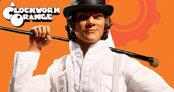 Action Figure Alex Delarge A Clockwork Orange (Laranja Mecânica) One:12 Collective da Mezco