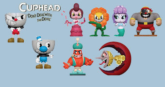 Cuphead Mystery Minis – Mini-Figuras Funko Blind-Box