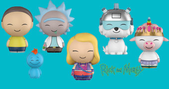 Bonecos Dorbz Rick and Morty