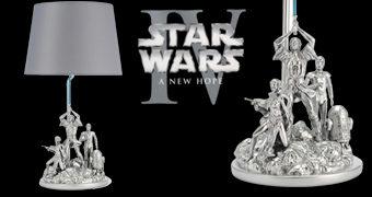 Abajur Star Wars Uma Nova Esperança