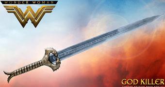 Réplica Perfeita da Espada Matadora de Deuses da Mulher Maravilha