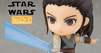 Boneca Nendoroid Rey – Star Wars Últimos Jedi