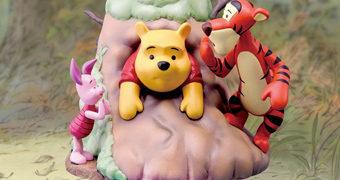 Estátua/Diorama Ursinho Pooh Disney D-Select