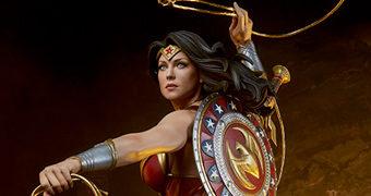 Wonder Woman Premium Format (Comic Book) – Estátua 1:4 Sideshow Collectibles da Mulher Maravilha