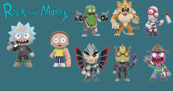 Rick and Morty Mystery Minis – Mini-Figuras Funko Blind-Box
