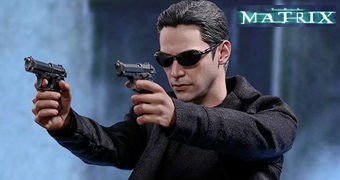 Neo (Keanu Reeves) em The Matrix – Action Figure Perfeita 1:6 Hot Toys