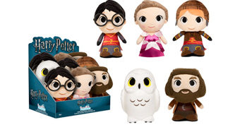 Bonecos de Pelúcia Harry Potter SuperCute