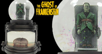 Globo de Neve Ghost of Frankenstein com Lon Chaney Jr.