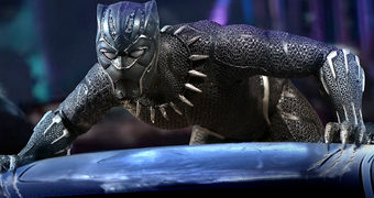Action Figure Pantera Negra (Black Panther) One:12 Collective da Mezco